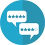 user ratings icon