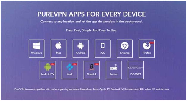 PureVPN compatible devices