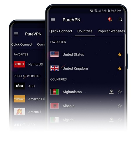 purevpn setup guide android devices