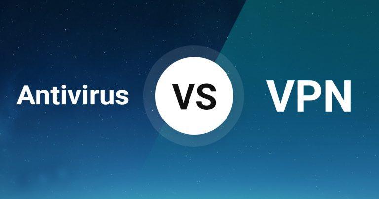 antivirus vs vpn comparison