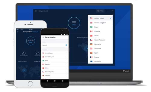 hotspot shield vpn secure different devices