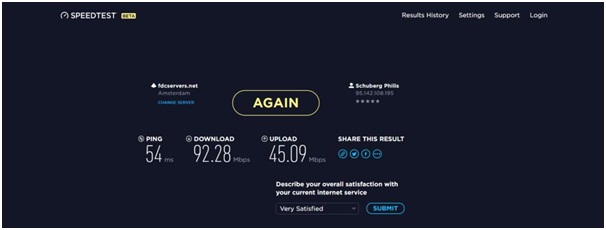 hotspot speed tests